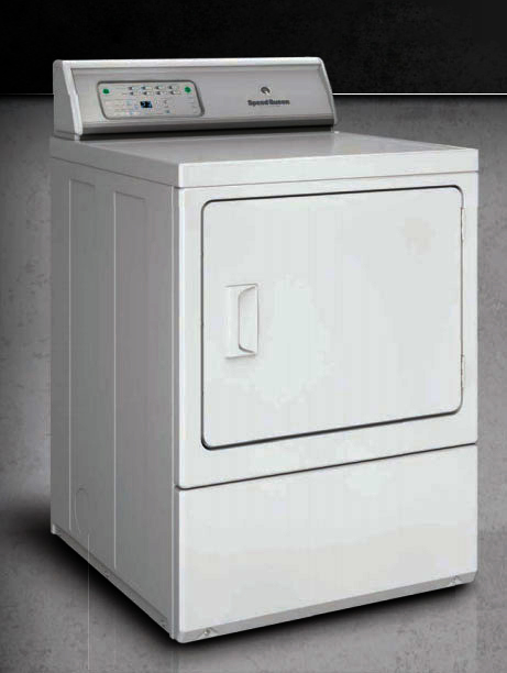 Speed Queen Front Load Gas Dryer Electronic
