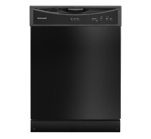 Frigidaire 24 In Black Built In Dishwasher: Frigidaire Built-in Dishwasher Black FFBD2406NB