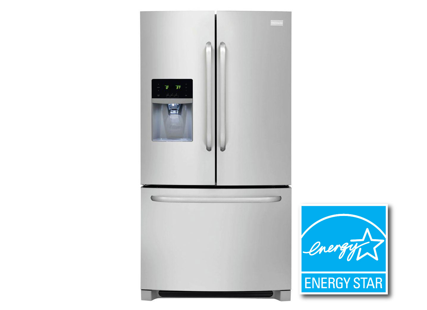 27.2 cu. ft. French Door Refrigerator in Stainless Steel