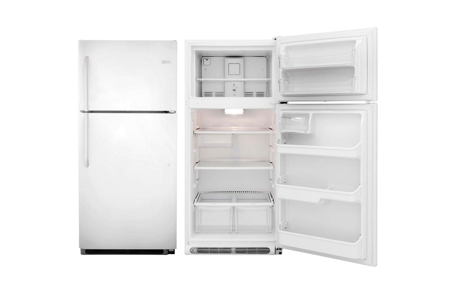 frigidaire 18cbf top freezer refrigerator fftr1814qw lp gas supplies. Black Bedroom Furniture Sets. Home Design Ideas