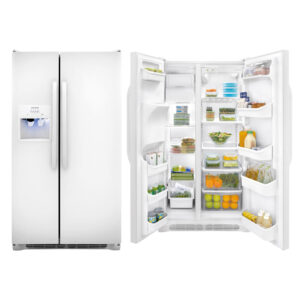 Frigidaire 22.1 Cu. Ft. Side-by-Side Refrigerator ffss2314qp