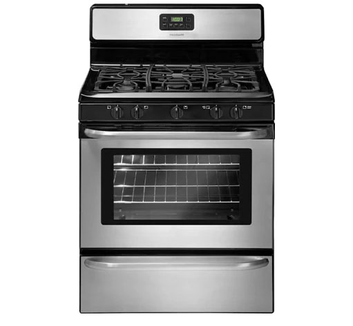 "Frigidaire 30"" Gas Range S.Steel Continuous Grates FFGF3049LS"