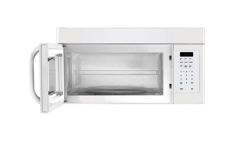 White Frigidaire Microwave Large Capacity