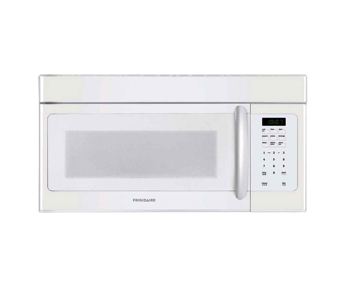 White Color Frigidaire Microwave