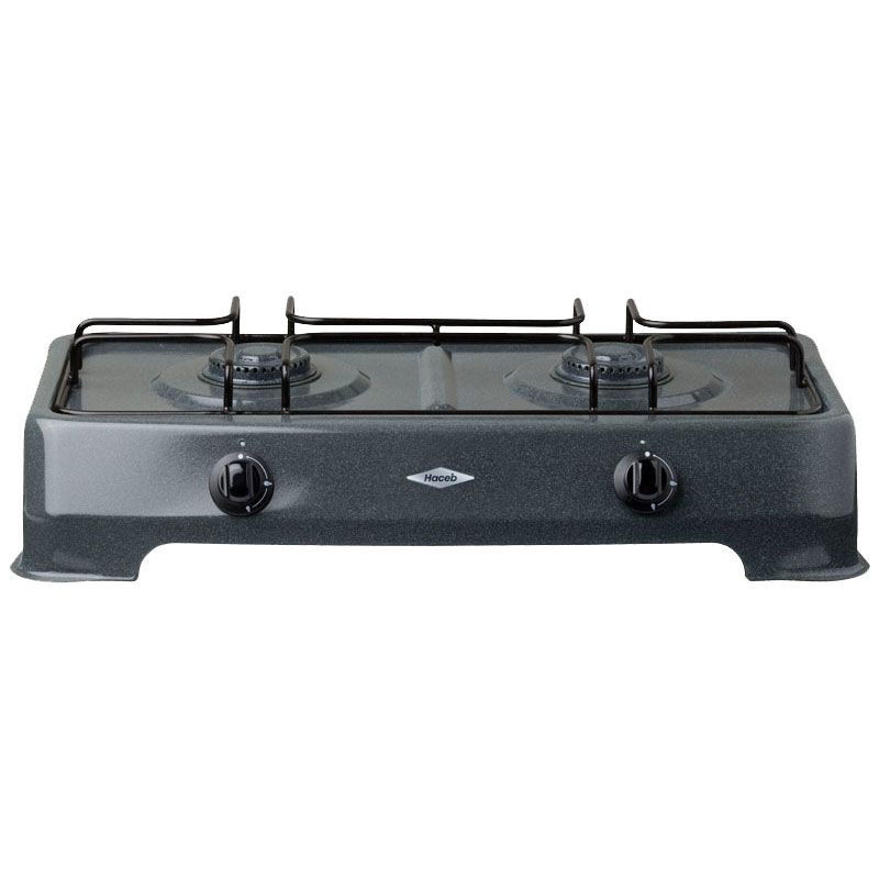 Haceb 2 Burner Table Stove 942304302HSSSE